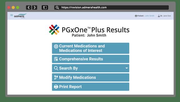 RxVision™ for PGxOne™ Plus